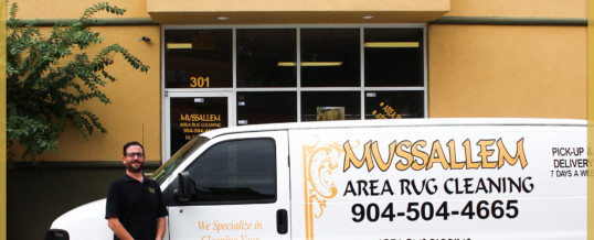 Meet Michael: President of Mussallem Area Rug Specialists